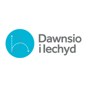 Dance to Health logo welsh