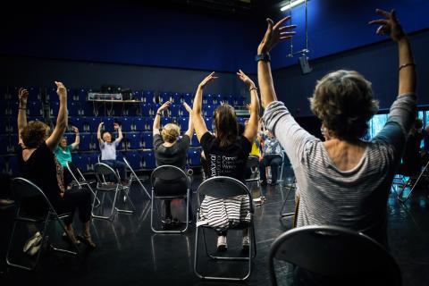 Dance for Parkinson's ballet pose