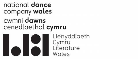 NDCWales and Literature Wales logos